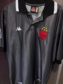 Camisa Vasco Da Gama Kappa Comemorativa Centenário 1998