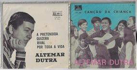 Disco De Vinil Altemar Dutra 2 Compactos Com Capa Própria