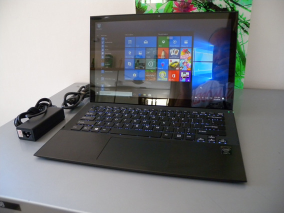 Sony Vaio Pro 13 Touchscreen I7 8gb 256ssd Svd Svf Fit Flip