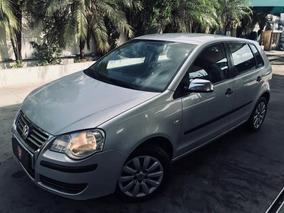 Volkswagen Polo 1.6 Total Flex 5p Sportline 2008 Prata Compl