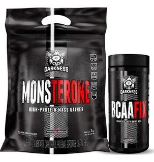 Monsterone (3kg) + Bcaa Fix (120 Tabletes) - Integralmédica