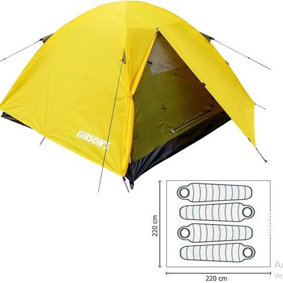 Carpas Camping Igloo 4 Personas Camper Rapel Gibsons