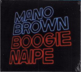 Cd Mano Brown Boogie Naipe Novo Lacrado Original