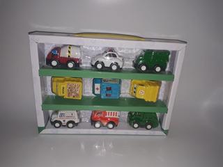 Coleção Mini Racing - Zoop Toys - 9 Carrinhos Fricção Barato