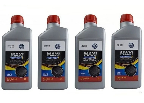 Kit Revisão 5w40 508 88 Maxi Castrol Performance Original Vw