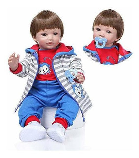 Muñecas Reborn Para Bebe Niña Realista De 24 Pulgadas 236