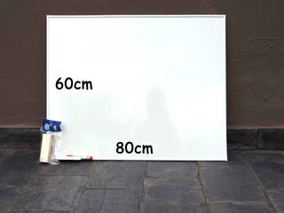 Pizarra Blanca Industria Nacional 80x60cm