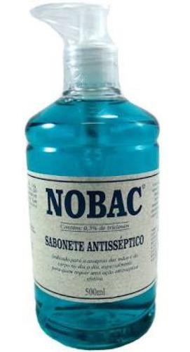 Imagem 1 de 2 de Sabonete Antisséptico 500 Ml Com Aplicador- Nobac