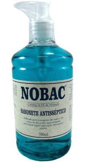 Sabonete Antisséptico 500 Ml Com Aplicador- Nobac