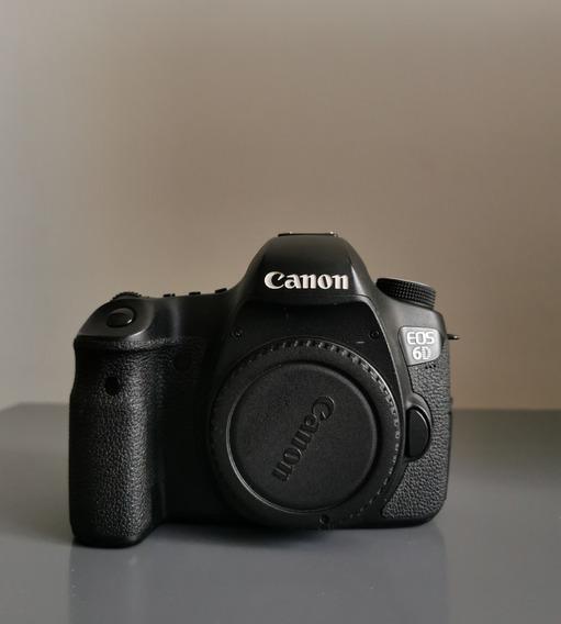 Câmera Fotográfica Canon Eos 6d Muito Nova 28k Cliques