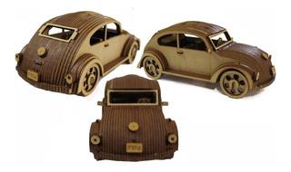 Fusca Carro Miniatura Brinquedo Relíquia Mdf