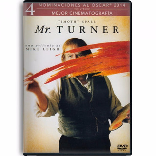 Mr Turner Timothy Spall Cine De Arte Pelicula Dvd