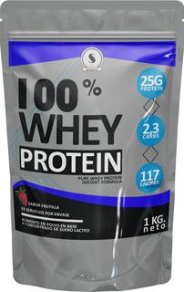 Whey Protein 80% 1 Kg Proteina Suero De Leche Sabores Varios