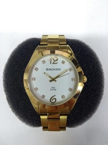 Relógio Feminino Backer 3273145f C/ Strass - Leia O Anúncio