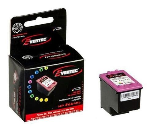 Cartucho Evertec Compatible 664xl Color