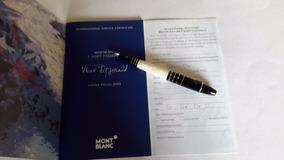 Caneta Montblanc Limitada2002 F.scott. Fiztgerald Fechada Ca