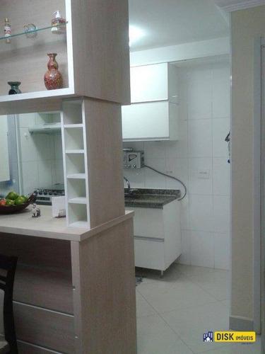 Apartamento Com 3 Dormitórios À Venda, 62 M² Por R$ 350.000,00 - Ferrazópolis - São Bernardo Do Campo/sp - Ap0677