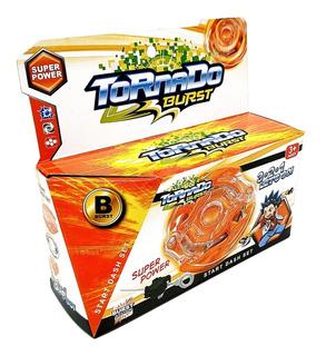 Juego Beyblade Tornado Burst Trompo De Choque Varios Colores