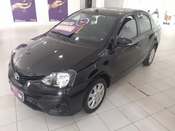 Etios 1.5 X Plus Sedan 16v Flex 4p Manual 33542km
