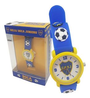 Reloj De Goma Infantil Boca Juniors