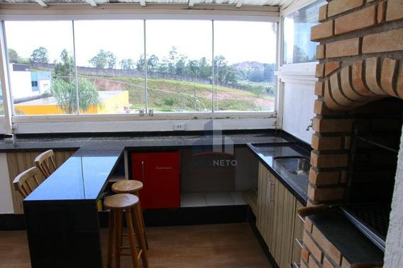 Cobertura Com 2 Dormitórios À Venda, 98 M² Por R$ 300.000,00 - Parque São Vicente - Mauá/sp - Co0100