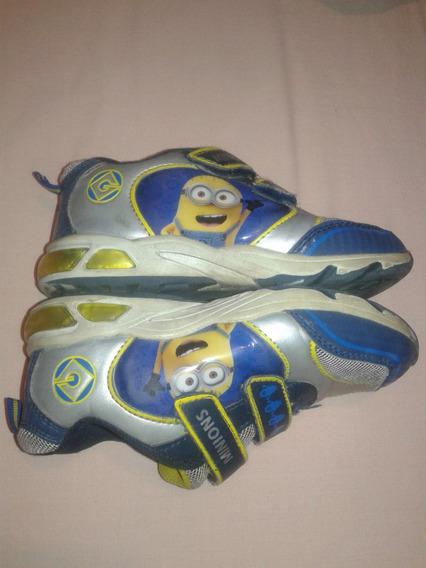 Zapatos Minios Talla 28 Niño Cierre Magico