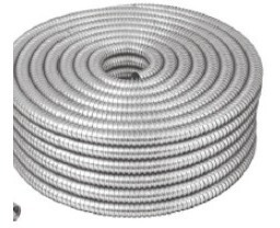 Tubo Flexible Metalico 3/4 Volteck Manguera Rollo 46901