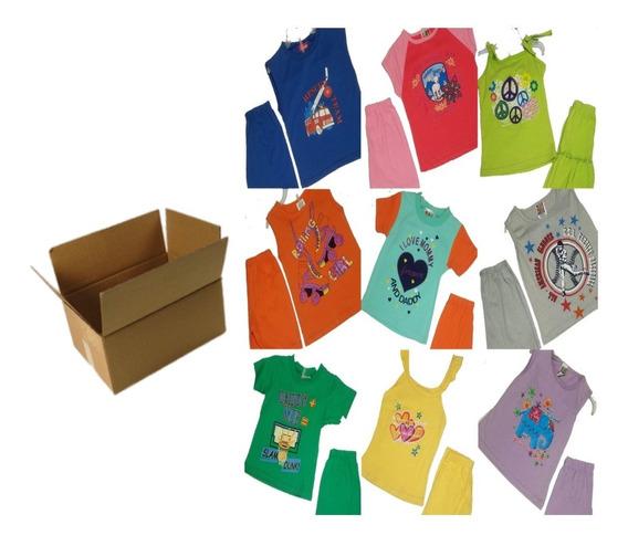 30 Pz Caja Lote Paca De Conjuntos Playeros Infantil Nuevo