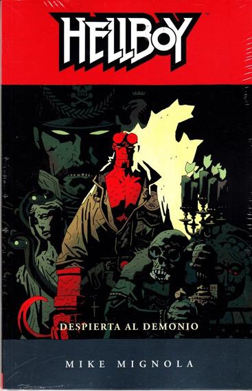 Comic Hellboy Vol. 2 Despierta Al Demonio Completo Sellado