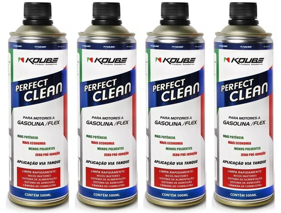 Kit 4 Perfect Clean Flex Gasolina, Etanol E Gnv Koube