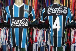 Grêmio 1990 Camisa Titular Tamanho G Número 4.