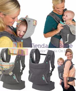 Infantino Cuddle Up Mochila Porta Para Bebé De 5 A 18 Kg
