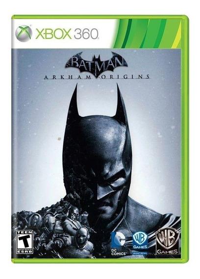 Batman Arkham Origins Xbox 360 Física Original Frete Grátis
