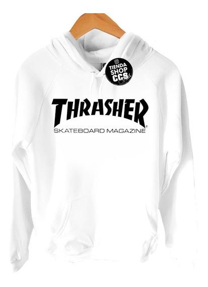 Sweater Thrasher Suéter Con Capucha Algodón Dama Y Caballero