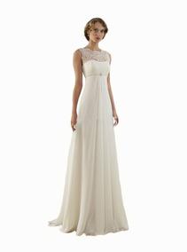 Vestido Novia O 15 Años Importado Saten Encaje Blanco Ivory