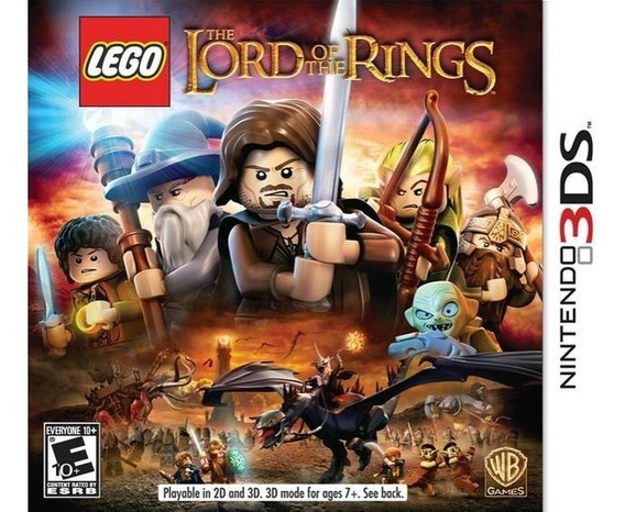 Jogo Lego Lord Of The Rings Nintendo 3ds Game Frete Grátis!