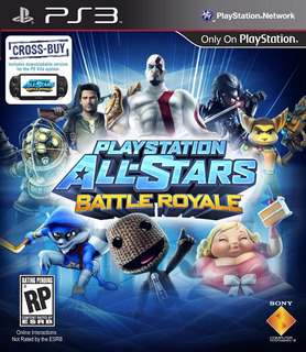 Playstation All Stars Battle Royale Ps3 Digital Gcp