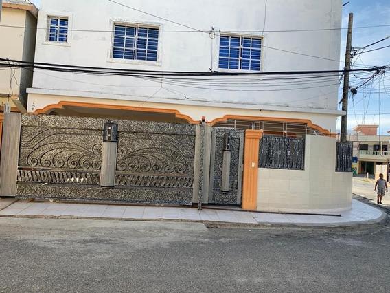 Se Alquila Bellísima Casa Nueva Autopista San Isidro Cerca D