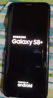 Cel. Samsung S8 Plus Desbloqueado Usado Detalles En Pantalla