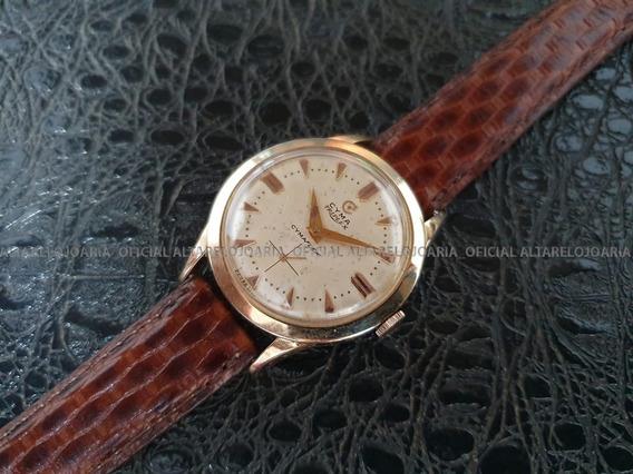 Relógio Masculino Cyma Swiss Made Antigo De Coleção