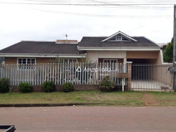 Casa Para Alugar, 46 M² Por R$ 1.500,00/mês - Jardim Água Doce I - Campina Grande Do Sul/pr - Ca0280