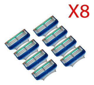 8 Cartuchos Gillette Fusion 5 Proglide 50% Dcto Originales !