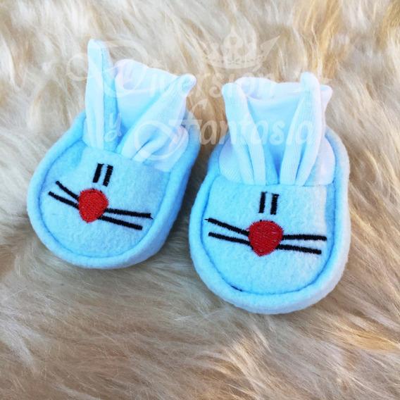 Pantuflas Polar Conejito Para Bebés