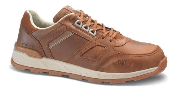 Zapato Caterpillar Woodward Leather S P91004 Con Casquillo