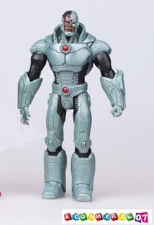Cyborg - Justice League - New 52 Simil Articulado 18cm Loose