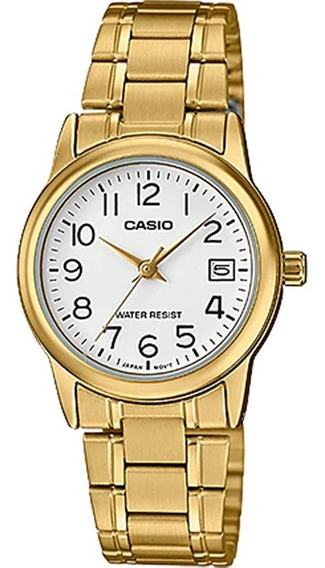 Relógio Casio Collection Feminino Ltp-v002g-7b2udf