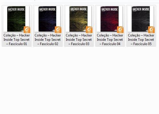 Hacker-inside - Top Secret Vol.1, 2, 3, 4 E 5