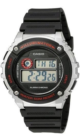 Relógio Casio Illuminator Quartz W-216h-1cvcf