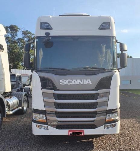 Scania Toco R 450 4x2  Branco