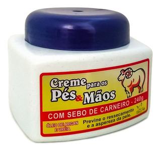 San Jully 3 Creme Para Pé E Mão Com Sebo De Carneiro 240g
